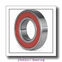 6305ZZ ZV3 25x62x17 Shielded Deep Groove Ball Bearings