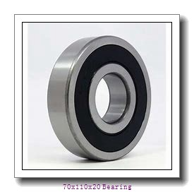 70x110x20 mm parallel cylindrical Roller Bearing N1014MP5