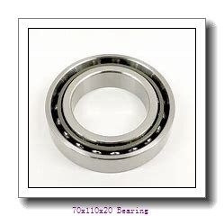 70 BNR 10H Angular Contact Ball Bearing 70BNR10H 70x110x20 mm