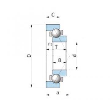 NSK NTN bearing 180BN19 excavator bearing 180BN19W