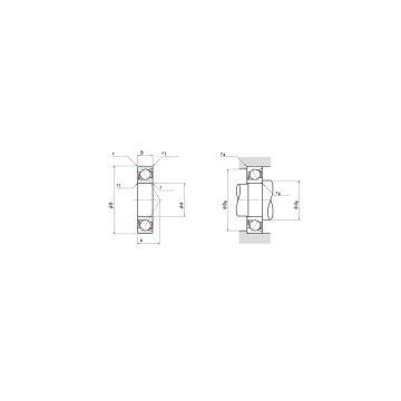 NSK 7936C Angular contact ball bearing 7936C Bearing size: 180x250x33mm