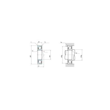 NSK angular contact ball bearing NSK 7014C P5 70x110x20