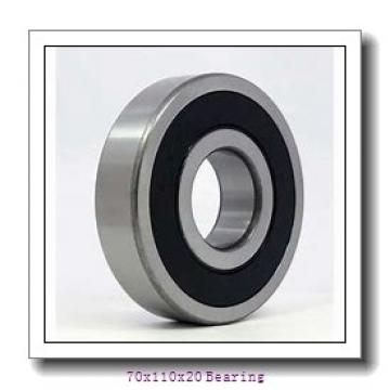 High speed roller bearing 7014ACETNH/P4A Size 70x110x20