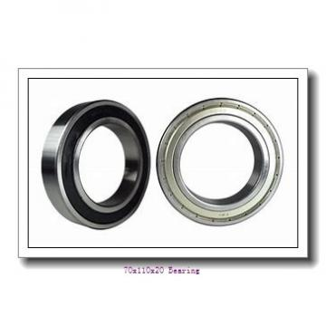 Deep Groove Ball Bearing 6014 Bearings Size 70x110x20 mm With High Quality