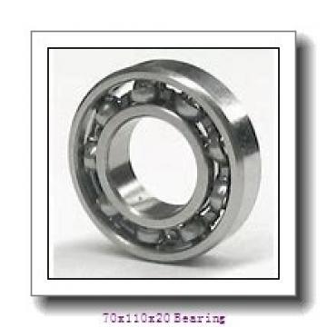 High speed motor bearings 6014M/C3S0 Size 70X110X20