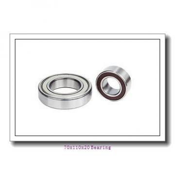 70x110x20 7014 P4 grade ABEC7 angular contact ball bearing