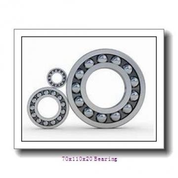 6014 Deep Groove Ball Bearing 6014-2Z 6014ZZ 70x110x20 mm