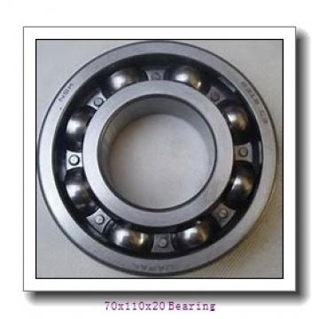Deep groove ball bearing 6014 with blue rubber shields for making machine