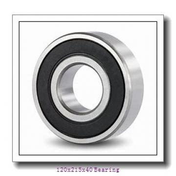 120x215x40 angular contact ball bearings QJS224